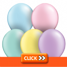 Plain 5 Inch Balloons - Qualatex